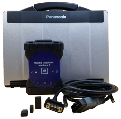 GM MDI 2 Toughbook Dealer Diagnostic Package