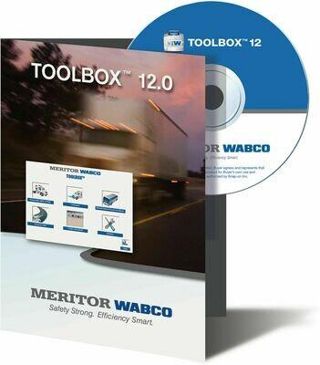 JPRO MERITOR WABCO TOOLBOX FOR ALL BRAKE APPLICATIONS
