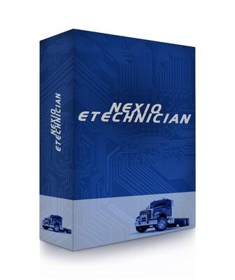 Nexiq eTechnician 856000 Universal Heavy-duty Light-duty Diagnostic Software