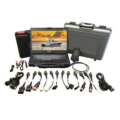 TEXA Dealer Level Marine Diagnostic Scanner Tool Full Gas & Diesel Coverage