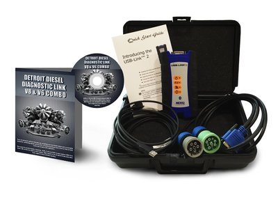 Detroit Diesel Diagnostic Link v8 & v6 Combo Standard License with NexIQ Scanner
