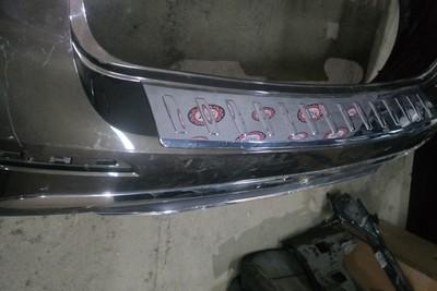 Бампер задний Mercedes Benz ML/GLE-Class W166