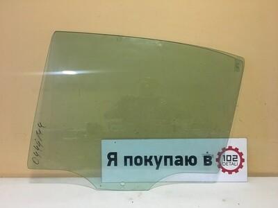 Стекло двери задней левой Skoda Octavia А5