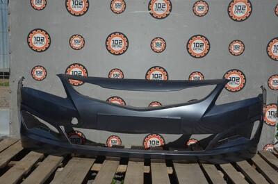 Бампер передний Hyundai Solaris Рестайлинг