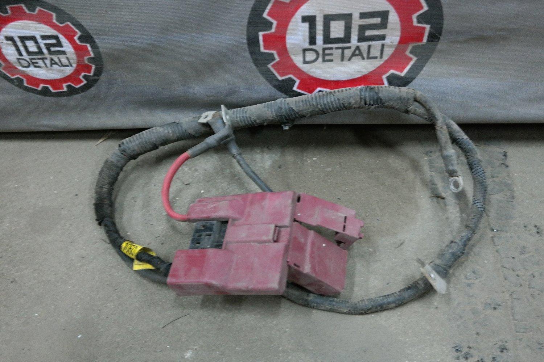 Клемма аккумулятора плюсовая Chevrolet Aveo T300 (2011--)