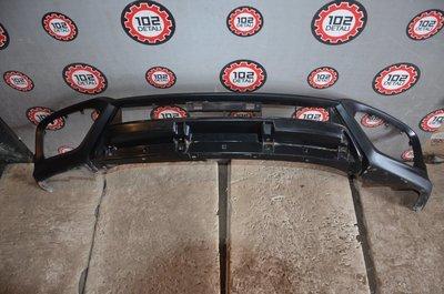Юбка переднего бампера Honda Crosstour