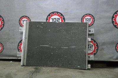Радиатор кондиционера Renault logan