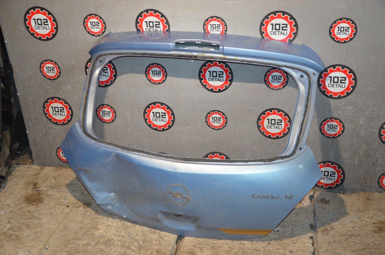 Дверь багажника Opel Corsa D