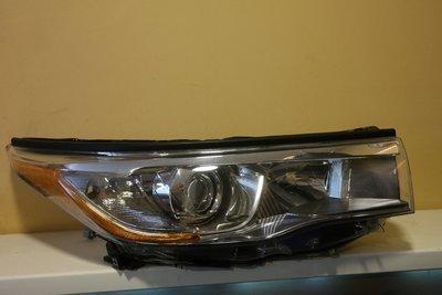 Фара правая Toyota Highlander 3 LED