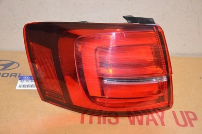 Фонарь левый наружный Volkswagen Jetta 6 LED 2015