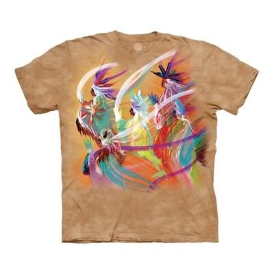 T-Shirt Unisex Rainbow Dance Native