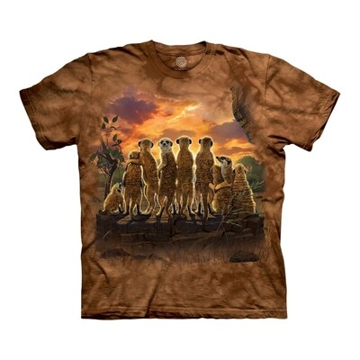 T-Shirt Meerkat Family