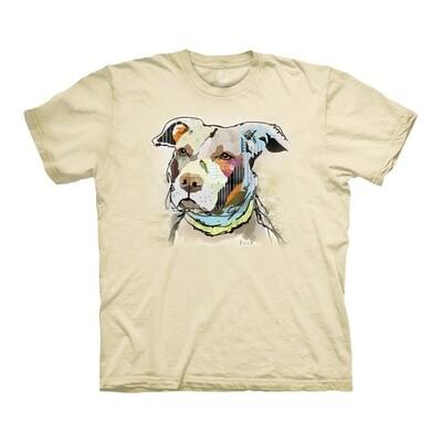 T-Shirt Paper Pitbull