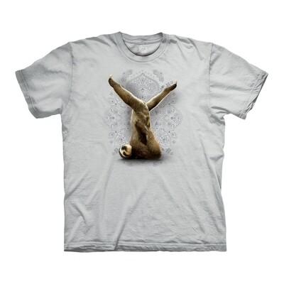 T-shirt Ardha Sarvangasana Sloth