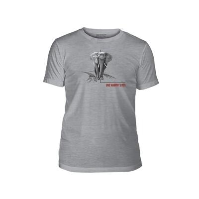 T-Shirt Habitat Elephant Protect
