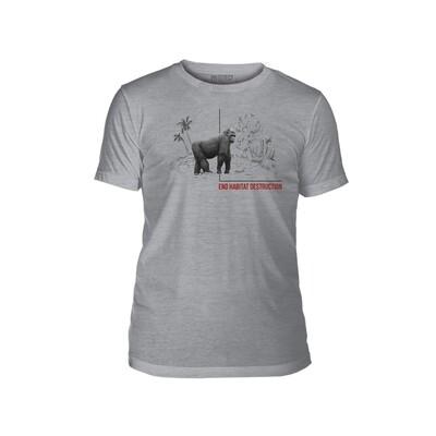 T-Shirt Habitat Gorilla Protect