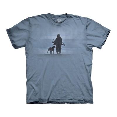 T-Shirt Hunter & His Dog