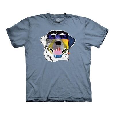 T-Shirt Laughing Labrador