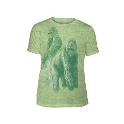 T-Shirt Monotone Gorillas