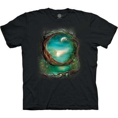 T-Shirt Moon Tree