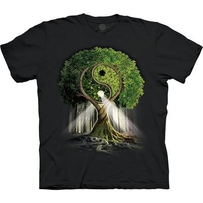T-Shirt Yin Yang Tree
