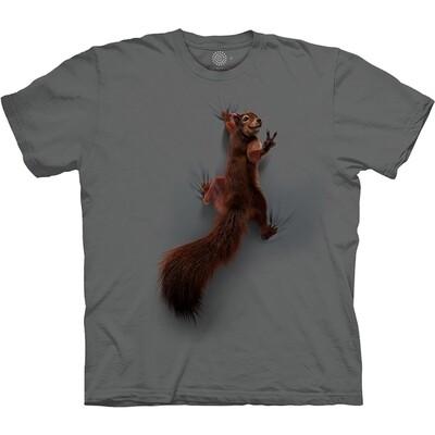 T-Shirt Peace Squirrel