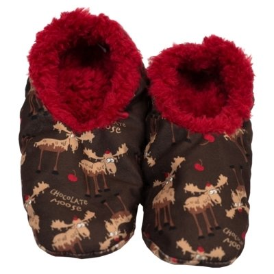Chocolate Moose Fuzzy Feet