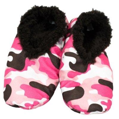 Camo Deer Fuzzy Feet