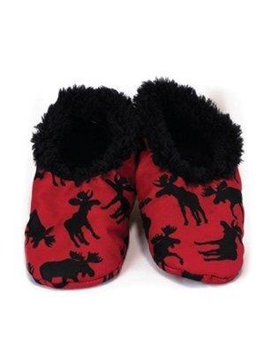Barntofflor Moose Red