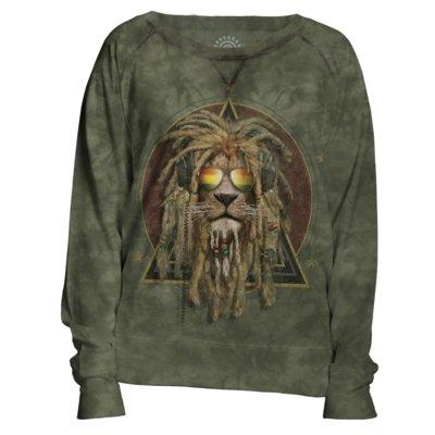 Sweater DJ Lion Retro Womens