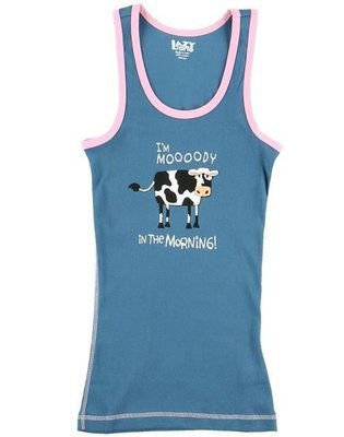 Mooody in the Morning PJ Tank Top