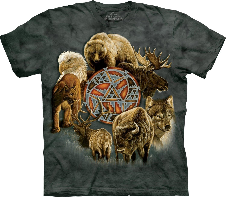 T-Shirt Animal Spirit Circle