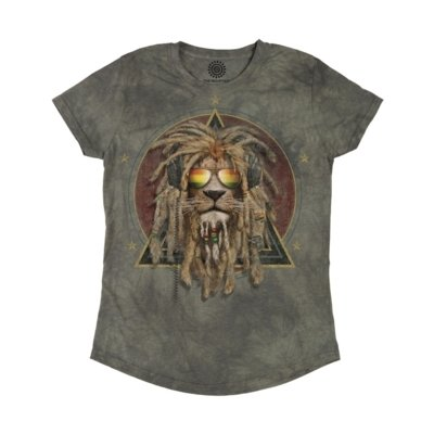T-Shirt DJ Lion Retro Fit