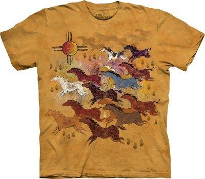 T-Shirt Horses and Sun