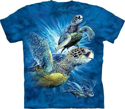 T-Shirt Find 9 Sea Turtles Kids