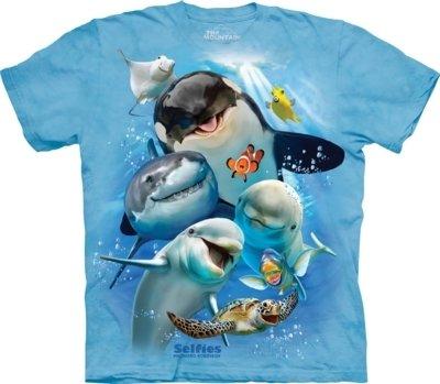 T-Shirt Ocean Selfie Kids