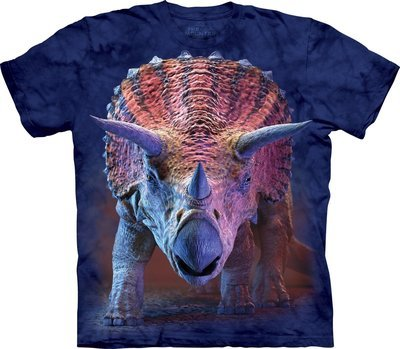 T-Shirt Charging Triceratops Kids