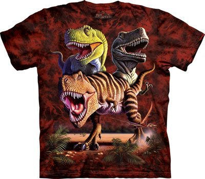 T-Shirt Rex Collage Kids