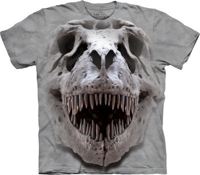 T-Shirt T-Rex Big Skull Kids