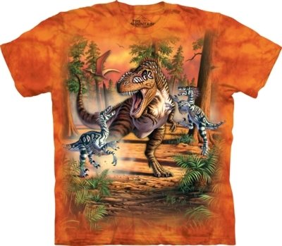 T-Shirt Dino Battle Kids