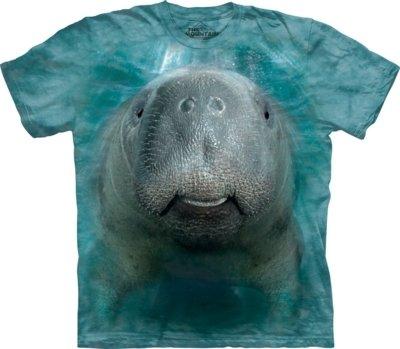 T-Shirt Big Face Manatee Kids