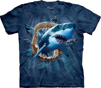 T-Shirt Shark Attack Kids