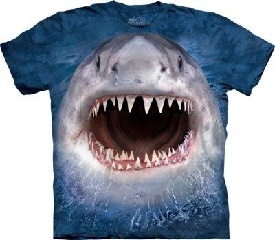 T-Shirt Wicked Nasty Shark Kids