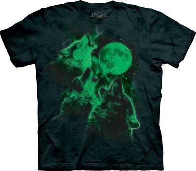 T-Shirt Three Wolf Moon Glow Kids
