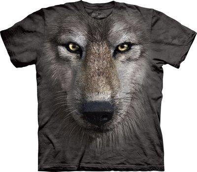T-Shirt Wolf Face Kids