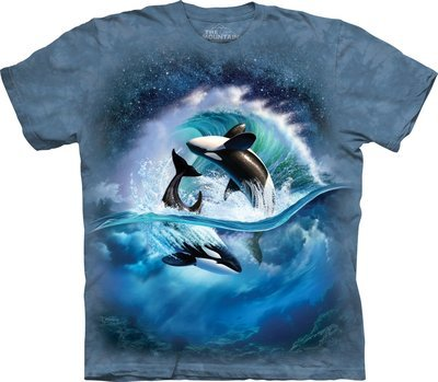 T-Shirt Orca Waves