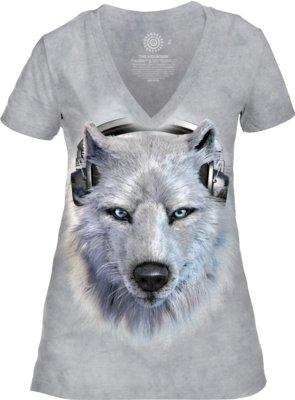 White Wolf DJ V-neck