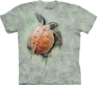 T-Shirt Sea Turtle Climb Kids