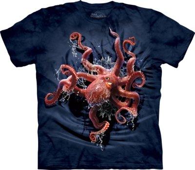 T-Shirt Octopus Climb Kids