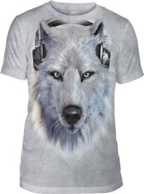 Unisex White Wolf DJ